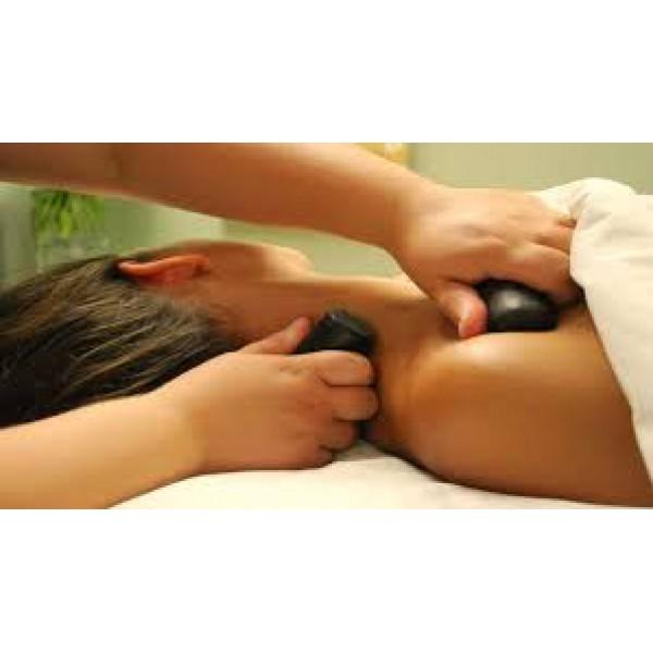 Hot & Cold stone Massage 冷熱石香薰排毒舒壓全身按摩